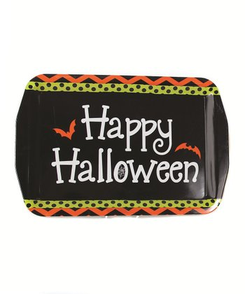 'Happy Halloween' Serving Tray