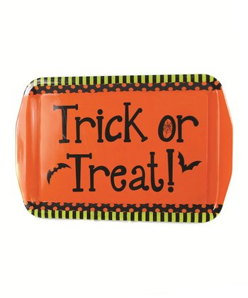 'Trick or Treat' Serving Tray