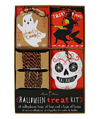 Halloween Treat Bag Set