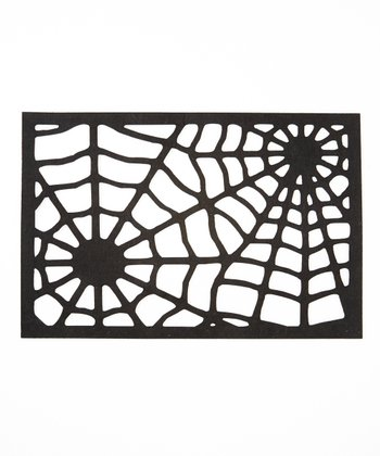 Spider Web Felt Place Mat - Set of Four