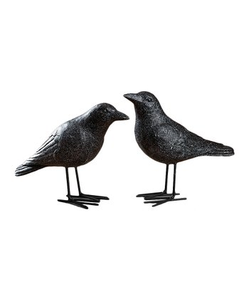 Crow Figurine Set