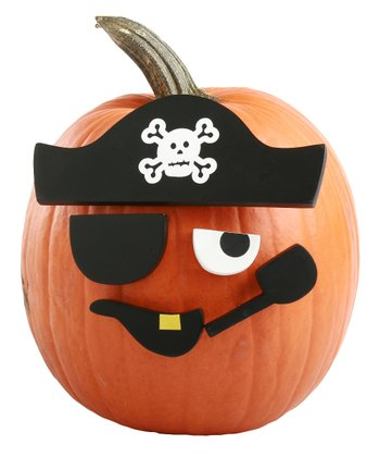 Pirate Pumpkin Decorating Set