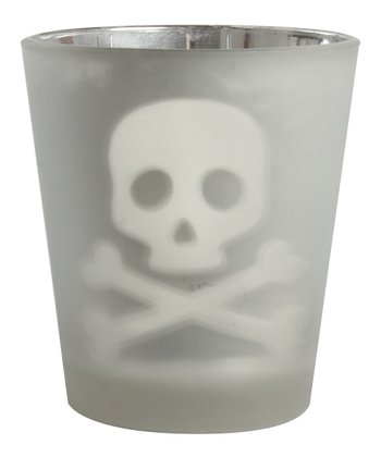Skull & Bones Votive Holder