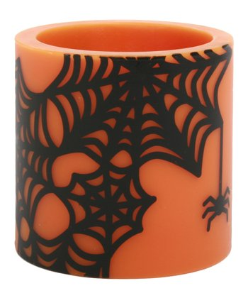 Spider Web Tea Light Luminary