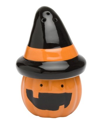 Halloween Pumpkin Salt & Pepper Shaker Set