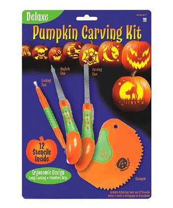 Deluxe Pumpkin Carving Set