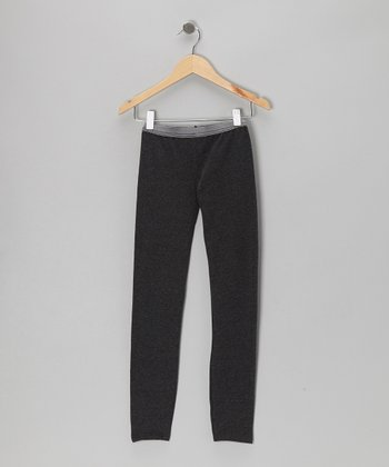 Charcoal Contrast Leggings