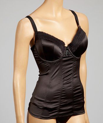 Black Fiona Full-Fit Camisole - Women & Plus