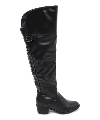 Black Amina Boot