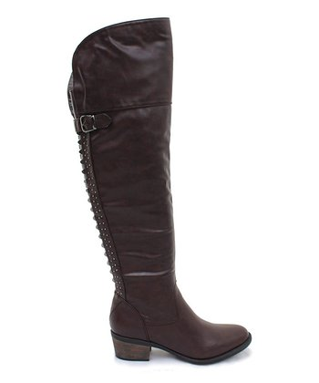 Brown Amina Boot