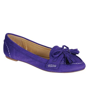 Purple Catchy Ballet Flat