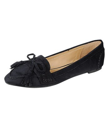 Black Catchy Ballet Flat