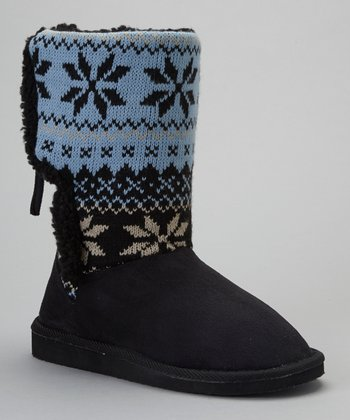 Black & Blue Malo Boot