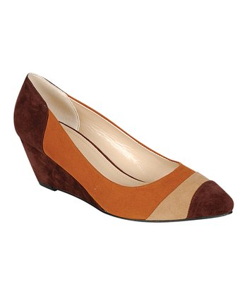 Brown Nickie Wedge