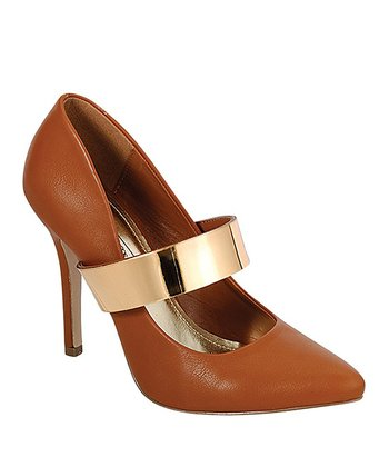 Brown & Gold Momentum Pump