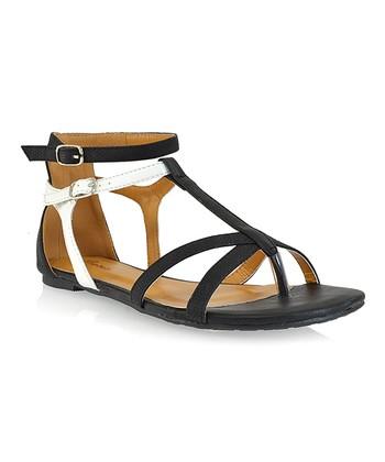 Shoe Republic LA Black Muubaa Sandal