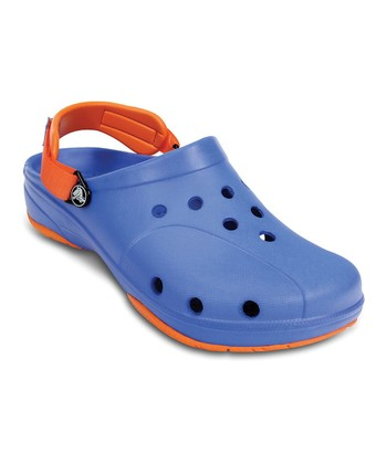 Blue & Orange Ace Clog - Women & Men