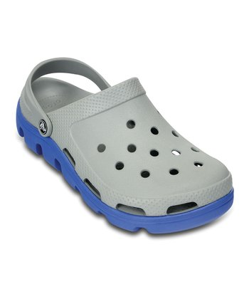 Light Gray & Varsity Blue Duet Sport Clog - Women & Men