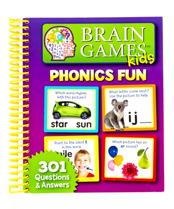Brain Games Kids Phonics Fun 301 Q&A Paperback