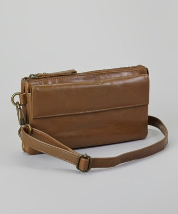 Mocha Desiree Crossbody Bag