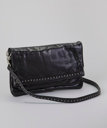 Black Lafayette Crossbody Bag