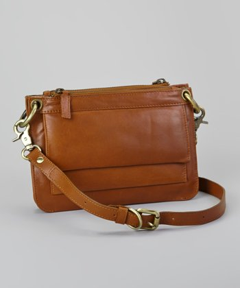 Tan Esmeralda Crossbody Bag