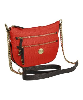 Orange Ashley Crossbody Bag