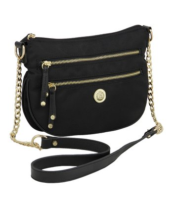 Black Ashley Crossbody Bag