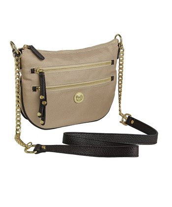 Almond Ashley Crossbody Bag