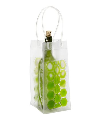 Light Green Wine Chiller Bag