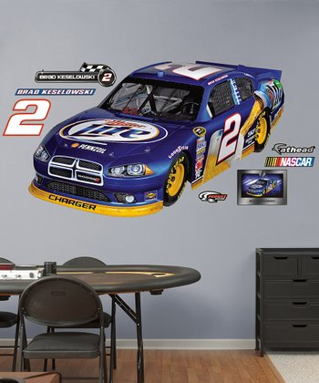 Fathead Brad Keselowski #2 Car Wall Decal Set