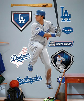 Los Angeles Dodgers Andre Ethier Wall Decal Set