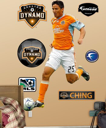 Brian Ching Wall Decal Set