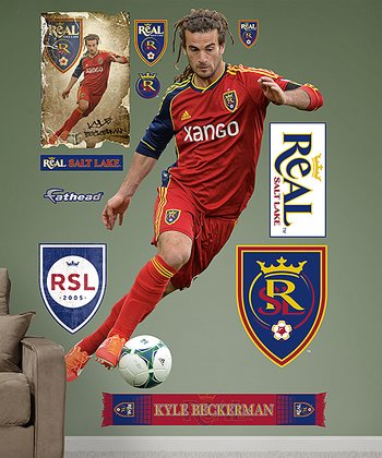 Kyle Beckerman Wall Decal Set