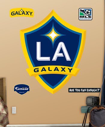 LA Galaxy Logo Wall Decal Set