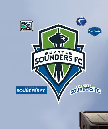 Seattle Sounders Logo Wall Decal Set