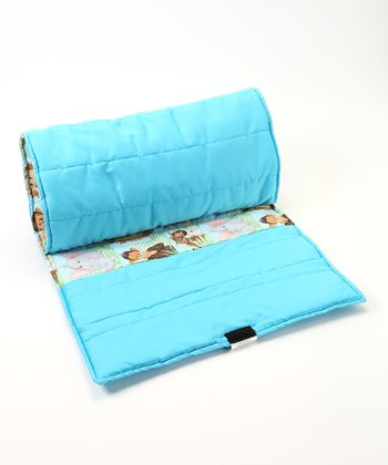 Blue Zoo Animal Nap Mat