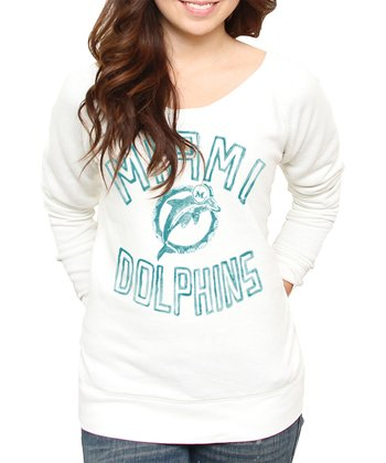 Sugar Miami Dolphins Sweatshirt - Women