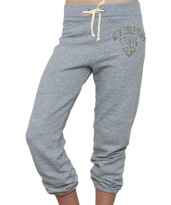 Heather New Orleans Saints Sweatpants - Women