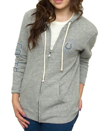 Heather Indianapolis Colts Hoodie - Women