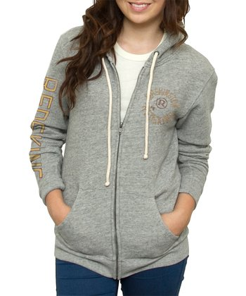 Heather Washington Redskins Hoodie - Women