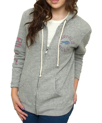 Heather Buffalo Bills Hoodie - Women