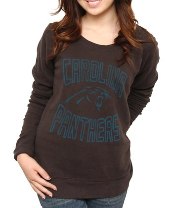 Black Carolina Panthers Sweatshirt - Women