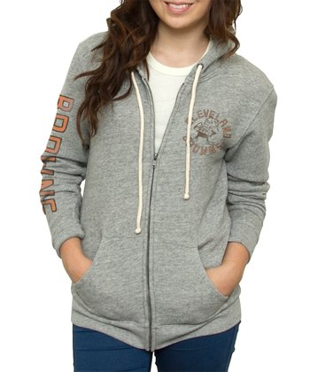 Heather Cleveland Browns Hoodie - Women