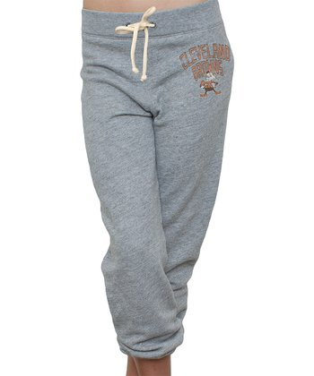 Heather Cleveland Browns Sweatpants - Women