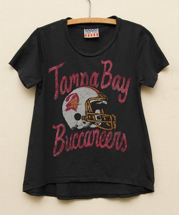 Black Tampa Bay Buccaneers Hi-Low Tee - Toddler & Girls