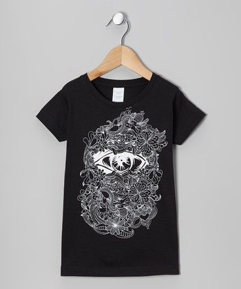 Black Eye Tee - Infant, Toddler & Girls