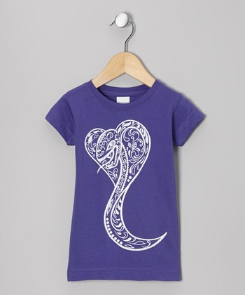 Purple Sugar Snake Tee - Infant, Toddler & Girls