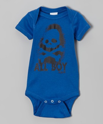 Royal 'All Boy' Bodysuit - Infant