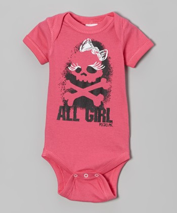 Hot Pink 'All Girl' Bodysuit - Infant